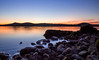 Sunset (bilusickr) Tags: sibenik sea sky sunset šibenik seascape sun rocks orange nature croatia dalmatia europe sunrise adriatic river krka