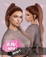 [RA] Grace @ Shiny Shabby (Candela Kira) Tags: mesh meshhair hair hairstyle hud haircolor hairstyles hairbase secondlife sl shinyshabby shiny shabby