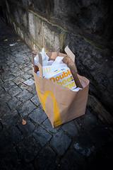 Ville de Lausanne, Ville d'Ordures… (Riponne-Lausanne) Tags: citederriere crap cultch dechets detritus dreck filth garbage gash gaulois irreductible junk leftovers litter littering ordures orts remains rubbish rue scrap slops street trash waste