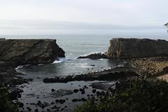 The portals of doom (rozoneill) Tags: cape arago shore acres sunset bay oregon coast trail hiking christmas lights coos charleston