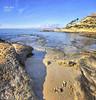 (030/18) La playita (Pablo Arias) Tags: pabloarias photoshop photomatix capturenxd españa cielo nubes arquitectura mar agua mediterráneo rocas arena playa cabodelashuertas alicante