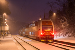Snowy night   951.007   Os 2037   BA-Železná studienka by lofofor -
