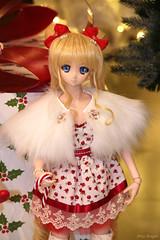 Christmas Usagi and Ami / Sailor Moon (frostyangel1985) Tags: usagi ami sailor moon сrystal sm serenity dd dds volks dollfie dream merry christmas happy new year xmas bunny tsukino