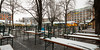 bad times for a beer (lichtauf35) Tags: viktualienmarkt münchen januar winter snow wideangle 1022 50d