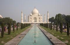 Taj Mahal (Rolandito.) Tags: india inde uttar pradesh agra taj mahal