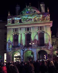 Lumiere Festival 2018, Piccadilly Circus, London (Cybermyth13) Tags: lumierefestival lightshow piccadillycircus london londonist england uk january night lights evening westend centrallondon 2018 publicart art piccadilly