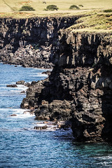Cliffs Long South Point (wyojones) Tags: hawaii cliffs kalae islandofhawaiʻi ihawaiian thepoint southpoint southcape confluence oceancurrents fishingspots fish redsnapper ulua halaeacurrent wyojones np
