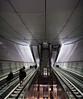 2018_Jan_NZLijn-854-Pano (jonhaywooduk) Tags: subway amsterdam design architecture tunnel rokin vizelgraacht turnstile escalator