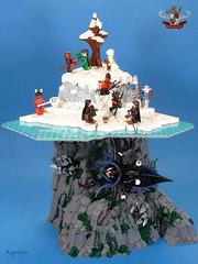 9R-C9  Ice fishing (Xymion) Tags: lego moc xymion 9reiche neun reiche nine kingdoms