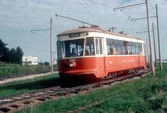 Mt Pleasant Iowa Sep93 4 (jsmatlak) Tags: iowa mt pleasant electric railway train interurban tram trolley streetcar