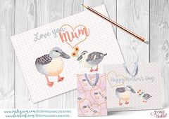 Sweet Greetings (jessicawaddell1) Tags: mothersday mum cards giftbag duck flowers mothers mom