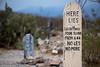 Lester Moore (PetteriJarvinen) Tags: tombstone arizona unitedstates us boothillcemetery boothill