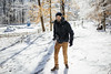 Kev Walking on Ice [02.08.18] (Andrew H Wagner | AHWagner Photo) Tags: 5dmk3 5d3 5dmkiii 5dmarkiii 5dmark3 canon eos 35l 35mm f14 f14l winter snow ice cunninghamfalls cunninghamfallsstatepark thurmont maryland frozen md person portrait photographer candid bokeh dof nature outdoors explore exploration exploring hiking