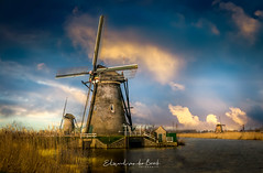 Kinderdijk 2018 (EBoss Fotografie) Tags: kinderdijk holland nederland netherlands sky soe clouds water landscape outdoors blue windmill canon