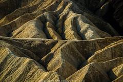 Zabriskie Point Badlands (Adam Woodworth) Tags: badlands california deathvalley deathvalleynationalpark desert hills mountains nationalpark zabriskiepoint