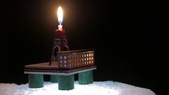 Arctic Drilling (Jan Zielinski) Tags: arcticdrilling drilling candle drillingrig offshorerig offshore lumix lx100 lumixlx100 oilrig macromonday flame miniature miniaturerig 3dprint 3dprintedminiaturerig