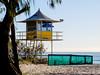 Lifeguard Tower (orgazmo) Tags: beaches landscapes australia qld queensland downunder fujifilm fujix fujinon xpro2 xf55200mmf3548ois goldcoast broadbeach
