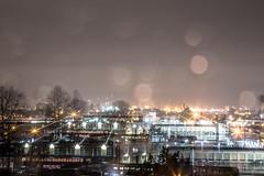 January 28, 2018. (Amanda Catching) Tags: today longexposure light rain city skyline east vancouver extinction