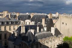 Rooftops of Le Marais (michael.mu) Tags: leica m240 50mm noctilux leicanoctiluxm50mmf095asph paris lemarais roof rooftops morning