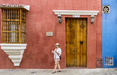 Cartagena, Colombia  -Explored 30/01/2018- (PriscillaBurcher) Tags: door window callelacocheradelhobonº38115 callelacocheradelhobo barriosandiego cartagena colombia unescoworldheritagesite explored l1520185