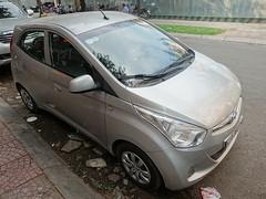 Hyundai Eon (D70) Tags: sony dscrx100m5 ƒ40 1100 125 88mm hyundai eon atos city car engine 814 cc epsilon g3hg i3 petrol phường14 hochiminh vietnam