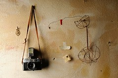 Konica (Studio d'Xavier) Tags: werehere cameraglamour camerajunkie gearacquisitionsyndrome konica camera stilllife c cisforcamera rangefinder