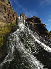 M2041903 M2041905 E-M1ii 7mm iso64 f5.6 1_125s MF (Mel Stephens) Tags: 20180204 201802 2018 q1 3x4 tall uk scotland aberdeenshire olympus mzuiko mft microfourthirds m43 714mm pro omd em1ii ii mirrorless st cyrus water waterfall best
