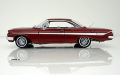 1961 Chevrolet Impala SS 409 2dr Hardtop (JCarnutz) Tags: 124scale diecast wcpd 1961 chevrolet impalass