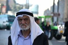 street photo, jerusalem (eva.pave) Tags: portrait man old street jerusalem israel palestina traditional religion bokeh dof