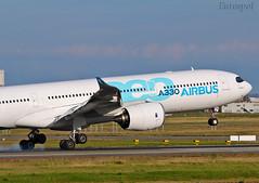F-WTTN (@Eurospot) Tags: fwttn airbus a330 a330900 neo blagnac toulouse