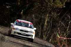 Tom Coughtrie/Baz Green - Mitsubishi Galant VR4 (MPH94) Tags: cambrian rally north wales llyn elsi february auto car cars motor sport motorsport rallying canon 7d mk2 welsh btrda msa light lighting tom coughtrie baz green mitsubishi galant vr4 forest