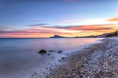 Atardecer en Altea (canonixus1) Tags: atardecer sunset playa olladealtea altea filtros canonixus1 canon6d canon1740 sky sea cielo calma clouds nubes