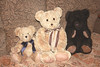 Spencer and friends. (Yesteryear-Automotive) Tags: spencer teddy bear charity shop find