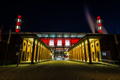 StadionKöln0189 (schulzharri) Tags: köln cologne stadion arena sport deutschland germany europe europa drausen outside out sun night light sky fusball soccer arhitektur architecture building gebäude