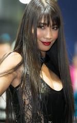 TAS2018 (byzanceblue) Tags: model people tas2018 tokyoautosalon sexy beautiful black japanese woman female lady d850 nikkor