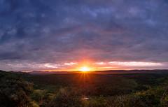 Breaking the clouds... (davYd&s4rah) Tags: sunrise hluhluwenp southafrica olympus twilightofthegods götterdämmerung clouds olympusm1240mmf28 sonnenaufgang dusk sonne sun jungle nationalpark südafrika em10markii m1240mm f28 landscape landschaft