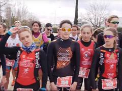 El team clavería en el Cto Aragonés y madrileño de duatlon 24