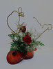 Hearts on Fire (charlottes flowers) Tags: flowershow wafuschool ikebana floraldesign whimsical
