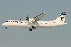 EP-ITA - ATR-72-600 - Iran Air (Rui _Miguel) Tags: epita thr oiii atr72 iranair mehrabad tehran