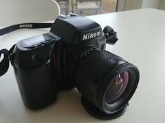 Nikon F-70 (Gabo Barreto) Tags: nikonf70 camera gear filmcamera nikon reflex