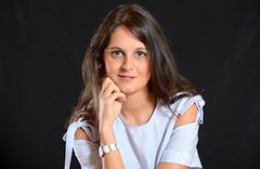 Silvia (eustoquio.molina) Tags: chica portrait girl feminine woman mujer bella modelo studio