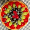 pretty fruit tart (karma (Karen)) Tags: food dessert fruittart brightcolors texture cmwd