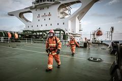 Fire Drill (Axel.Peri) Tags: tanker sea