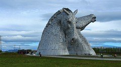 The Kelpies in the Helix Falkirk. (Eddie Crutchley) Tags: europe uk scotland falkirk outdoor thehelix thekelpies art sculpture park simplysuperb greatphotographers