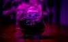 Take me to your Leader!! (Dotsy McCurly) Tags: takemetoyourleader alien cute toy spaceship arttoy diningroomtable led lights stilllife nikond850 tokinaatx100mmf28prodmacro smileonsaturday lightopia
