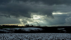 The Smell of Snow (Nikonphotography D750) Tags: himmelsleiter landschaft landschaftsfotografie landscapephotography bayern bavaria deutschland germany winter landscape schnee snow sony sonyphotography sonyalpha6500 ilce6500 franken franconia frankenhöhe franconianheights wolken clouds