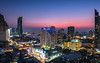 Bangkok   |   Bangkok Blues (JB_1984) Tags: skyline skyscraper tower view vista cityscape urban megacity metropolis evening dusk bluehour river chaophrayariver bangkok thepmahanakhon thailand kingdomofthailand nikon d500 nikond500