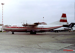 BALKAN AN-12 LZ-BAG (Adrian.Kissane) Tags: balkan an12 cargo shannon lzbag