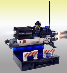 LSB2018 - District 18 PD Interceptor (Brixnspace) Tags: lego moc speeder district18 district 18 police interceptor