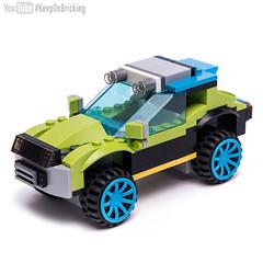 Creator 31074 alternate moc (KEEP_ON_BRICKING) Tags: lego creator set 31074 alternate moc model 4x4 car vehicle conceptcar awesome custom design